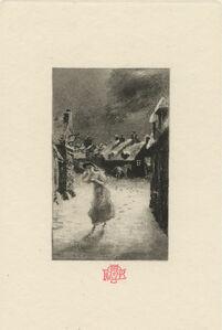 Félix Hilaire Buhot, 'Le Bas-Hamet', ca. 1874