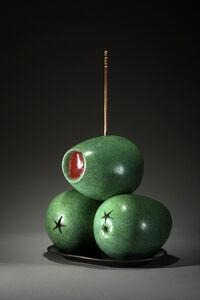 Luis Montoya / Leslie Ortiz, 'TAPAS SERIES XI -- STUFFED OLIVES', 2014