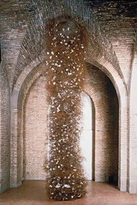 Frida Baranek, 'Coluna barulhenta', 1990
