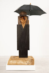 Marisol, 'Magritte II', 1998