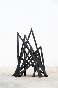 Bernar Venet, '11 Acute Unequal Angles', 2016