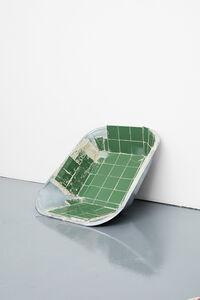 Matias Faldbakken, 'Tiled Wheelbarrow Tray', 2016