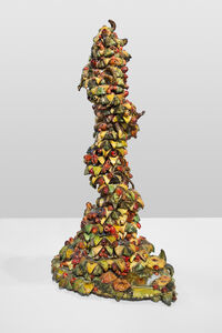Nancy Pletos, 'Yellow Spiral/Farm IV', 1978