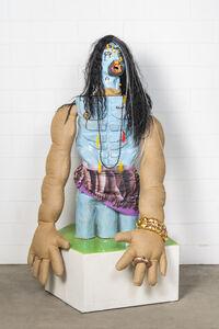 Ramesh Mario Nithiyendran, 'Blue Standing Figure', 2019