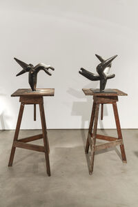 Liuba, 'Untitled and Composition in Flight', 1965