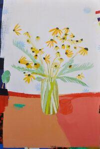 Wendeline S. Matson, 'Yellow Wildflowers', 2018