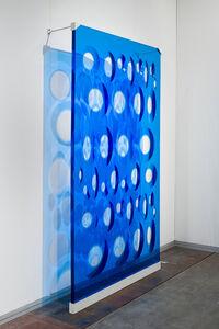 Rogelio Polesello, '36 óvalos azules | 36 blue ovals', 1969