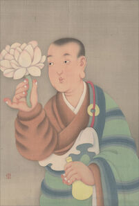 Guo Hui 郭輝, 'White Lotus Acolyte 白蓮童子', ca. 2019
