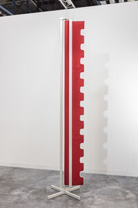 Nicole Wermers, ' Awning sculpture (red)', 2016