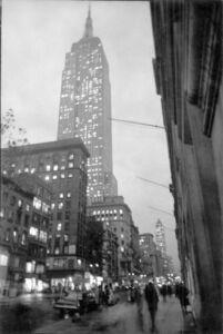 David Vestal, 'Fifth Avenue, New York, October', 1963