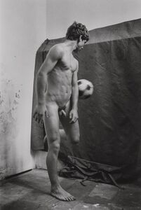 Will McBride, 'Oliviero with Ball in Casoli', 1979-printed later