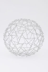 R. Buckminster Fuller, 'Geodesic Tensegrity Sphere, 120 Strut, 4 Frequency Dome, Edition 1 of 1', 1980