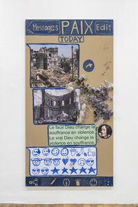 Thomas Hirschhorn, 'Paix (Chat-Poster)', 2020