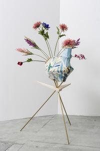 """Aurora Sander, 'Fragments of My Dinner with Aurora Sander (""""Peacock"""")', 2014"""