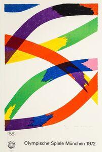 Piero D'orazio, 'Olympische Spiele Munchen', 1970