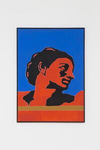 Tano Festa, 'DA MICHELANGELO', 1976