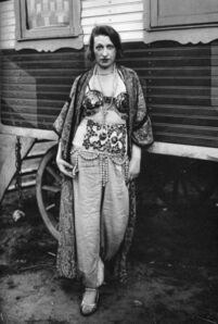 August Sander, 'Circus Artist', 1921