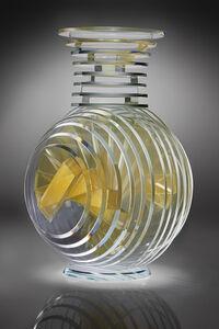 Sidney Hutter, 'Goldie Vertical Vase', 2017