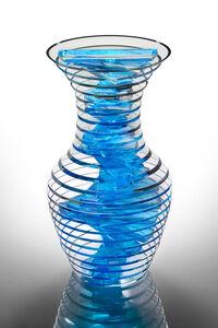 Sidney Hutter, 'Polished Plate Glass Vase #32-18', 2018