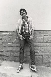 Hal Fischer, 'Street Fashion: Basic Gay, from the series Gay Semiotics', 1977