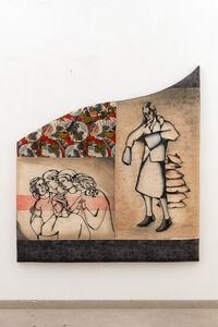 Anju Dodiya, 'Giotto whispers', 2021