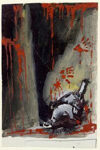 Mario Sironi, 'Composizione con sangue', ca. 1940