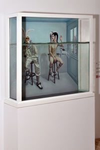 Lv Yanxiang, 'Damien and Hirst', 2014