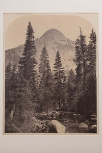 Carleton E. Watkins, 'North Dome', 1861