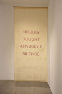 Yasmin Jahan Nupur, 'Nobody Bought Anybody's Silence ', 2017-2018