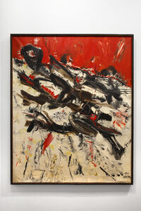 Mattia Moreni, 'Sterpi sulla neve ', 1956