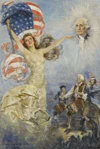 Howard Chandler Christy, 'Mother of His Country', 1932