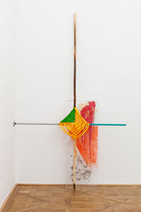 Jessica Stockholder, 'Messed on the Beach', 2014