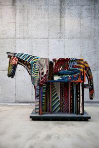 Shin Sang Ho, 'Minhwa Horse', 2011