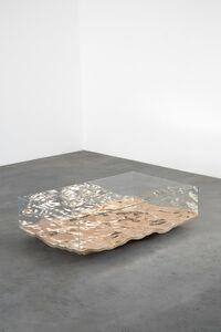 Mathieu Lehanneur, 'Liquid Bronze Low Table', 2016