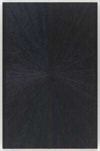 Mark Grotjahn, 'Untitled (Blue Butterfly Light to Dark I 651)', 2005