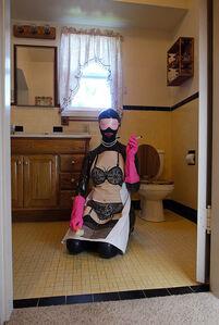 Kat Toronto (Miss Meatface), 'Pink Gloves', 2017