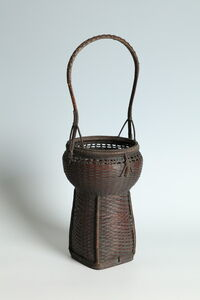 Anonymous, 'Handled Flower Basket in Chinese Style (T-4207)', Meiji era (1868, 1912), ca. 1900