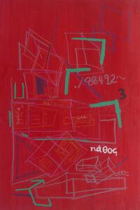 David Straange, 'Mad Red', 2018
