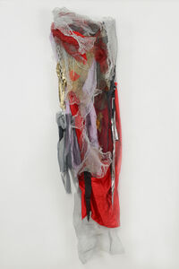 Renée Lerner, 'Red Dress with Chains', 2012