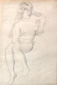 Matthew Smith, 'Nude', ca. 1930