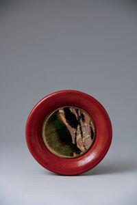 Ken Matsuzaki, 'Pottery frame, oribe glaze', 2020