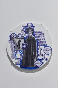 Thomas Hirschhorn, 'Hard-Medaillon 1', 2020