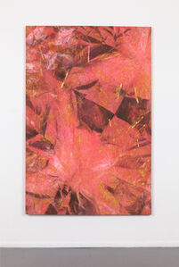 Mette Tommerup, 'Garden of Ur (Black, Raw Umber, Red, and Pink) ', 2019