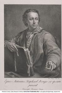 Anton Raphael Mengs, 'Eques Antonius Raphael Mengs se ipsum pinxit', 1778