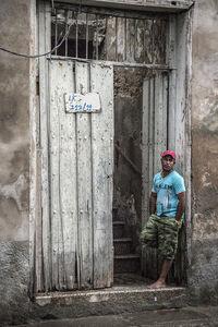 Marcia Lloyd, 'Doorway, Santiago de Cuba', 2016