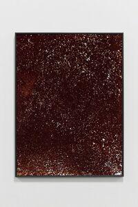 Fabio Barile, 'Simulation of a landslide in darkroom with sand, developer and chromogenic paper. N°6', 2015