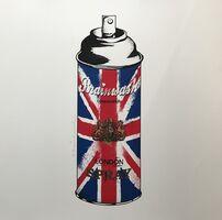 Mr. Brainwash, 'Spray Can (Union Jack)'