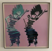 Andy Warhol, 'Satyric Festival Song (unique trial proof from the Martha Graham suite)', 1986