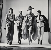 Helmut Newton, 'Sie Kommen, Paris 1981 Dressed', 1981