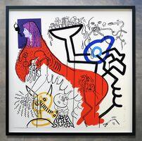 Keith Haring, 'Apocalypse No. 4', 1988